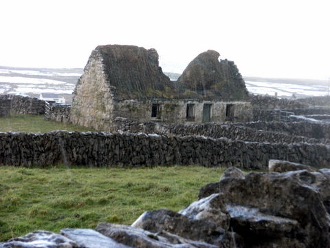 Old cottage on Inis Meain