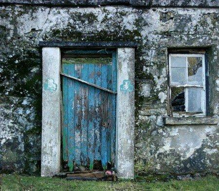 Old Irish Cottage on Inis Meain