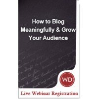 WD Webinar Blogging