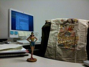 Wonder Woman at Work