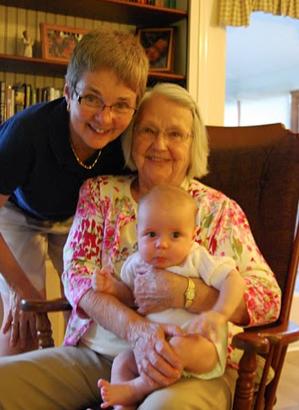 Shirley, Barbara Ann, and Owen (August 2011)