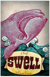 SWELL cover design by Chris Jordan with Charlie Potter.