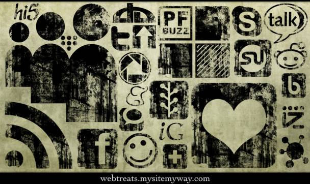 Grunge Social Media Art