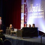 The CEOs panel, nominated by F+W Media's DAvid Nussbaum, was onstage Tuesday at the Digital Book World Conference + Expo.