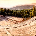 The great theater at Epidauros in Greece is a BC 4th-century wonder, seating 15,000 for various machinations of the gods. (Photo: iStockphoto / Anton Marlot)