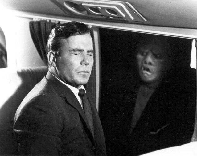 Twilight Zone creature on plane