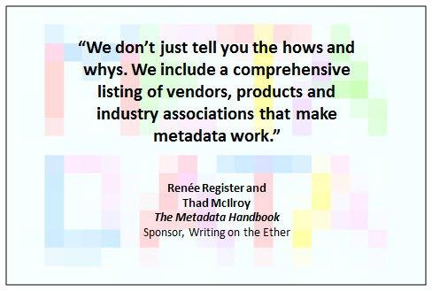 19 September 2013 Metadata Handbook excerpt 1