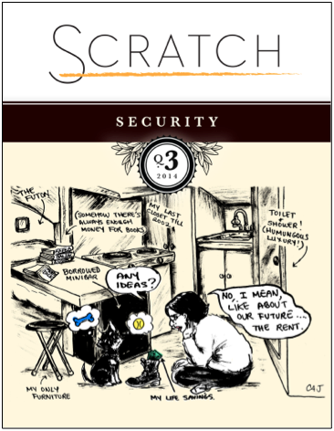Scratch Magazine: all about writing and money