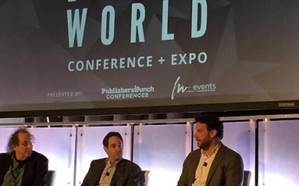 Digital Book World 2015 panel with Russ Grandinetti of Amazon
