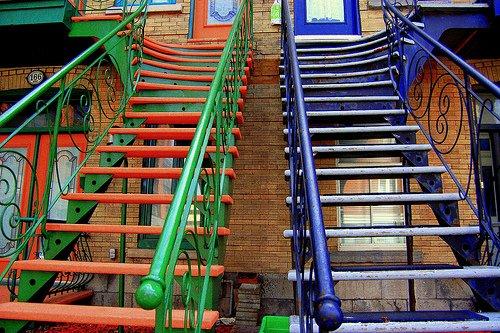 Stairway by Luba M. via Flickr