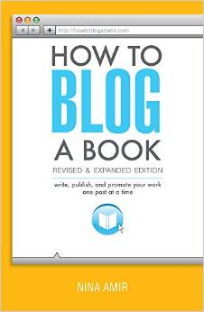 Cover to How to Blog a Book, by Nina Amir