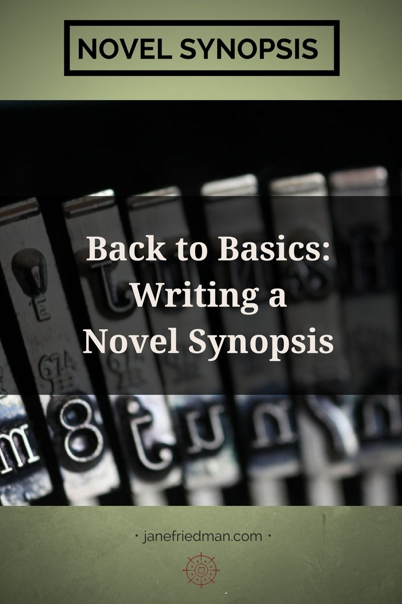 Back to Basics: Writing a Novel Synopsis: It's probably the single most despised document you might be asked to prepare: the synopsis. While this post is geared toward writers of fiction, the same principles can be applied to memoir and other narrative nonfiction works.