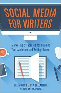 The cover of Social Media for Writers by Tee Morris and Pip Ballantine