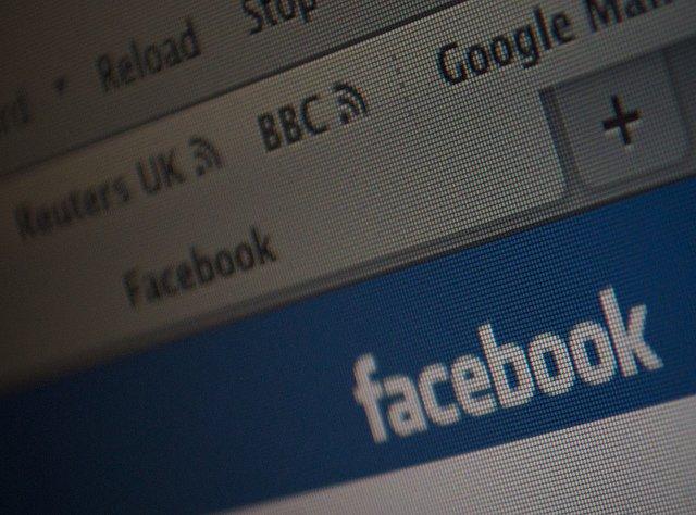 Screenshot of Facebook tab in a web browser