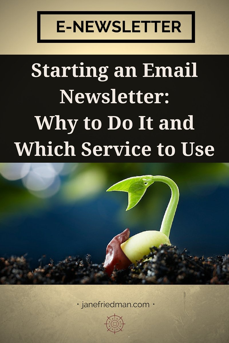 """""""In this series, I'll walk you through some of the places people get stuck to help you get the most out of your list. To start, let's take the conversation back a few steps to discuss why email is important."""" -author Kirsten Oliphant's first post in a series about growing an email list"""
