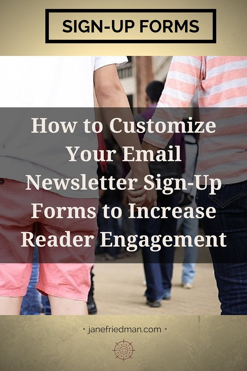 """The connection with your email newsletter subscribers starts much sooner than you think, in a place that many gloss over or ignore: your signup forms."" -author Kirsten Oliphant's second post in a series about email"