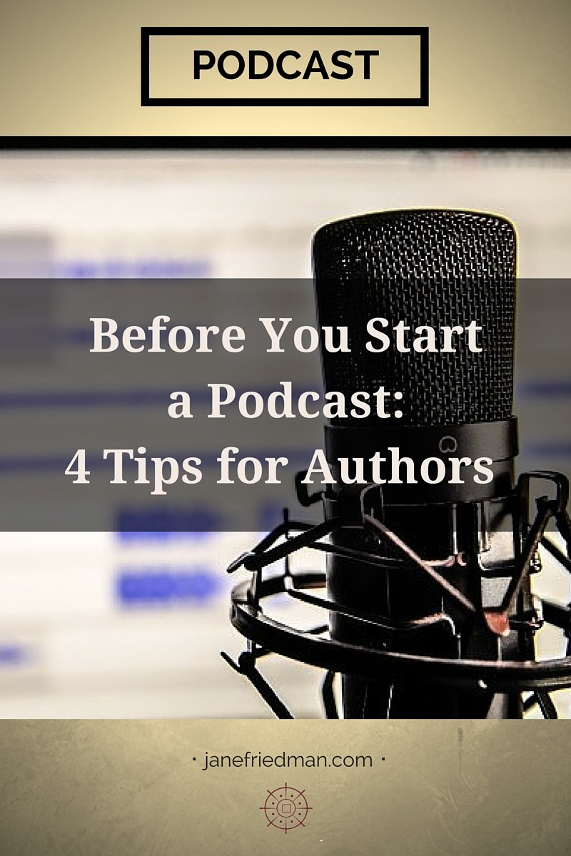 Devon Fredericksen, a production editor at Girl Friday Productions, shares hard-earned podcast production knowledge with these four tips on starting your own author podcast.