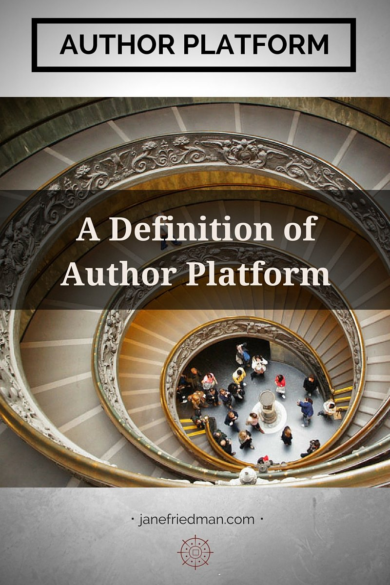Author platform is one of the most difficult concepts to explain, partly because everyone defines it a little differently. Here's what agents and editors mean by platform, plus a clear definition of what platform is NOT.