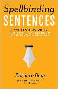 The cover of Spellbinding Sentences by Barbara Baig