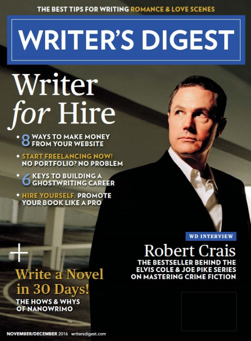 Nov/Dec 2016 Writer's Digest
